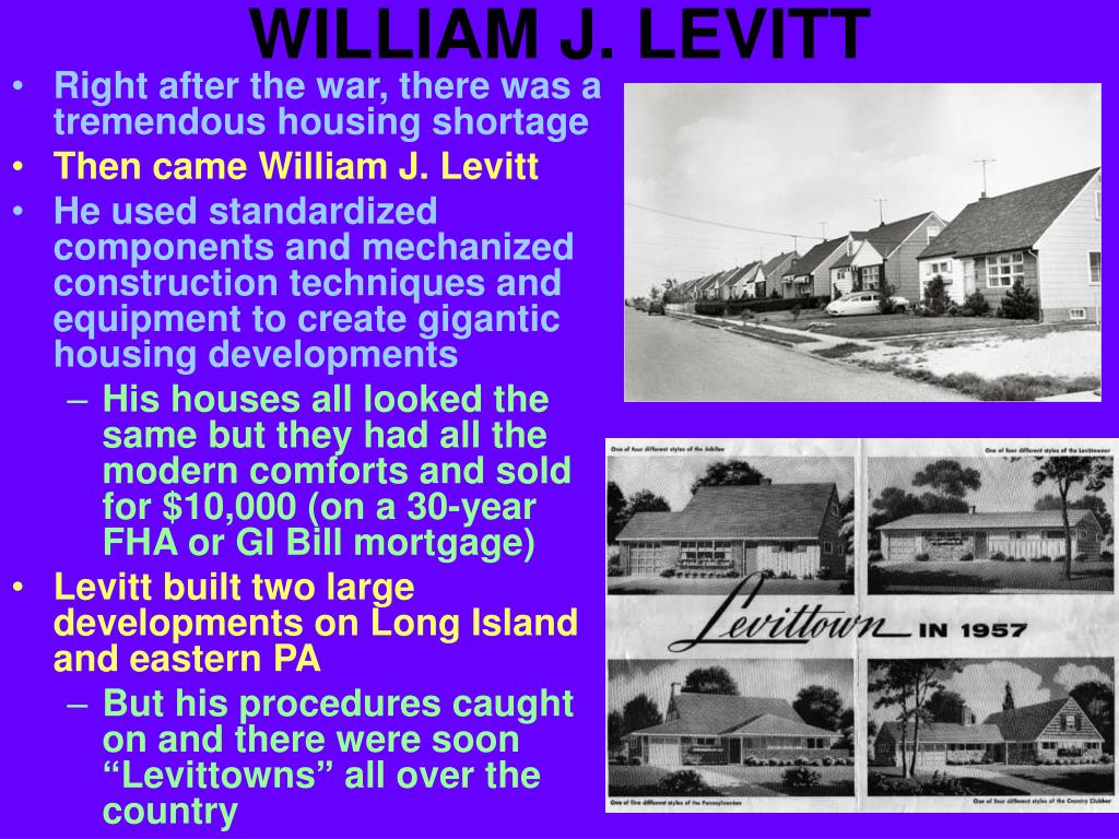 WILLIAM J. LEVITT