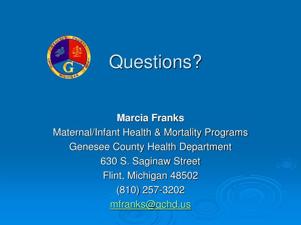 Marcia Franks