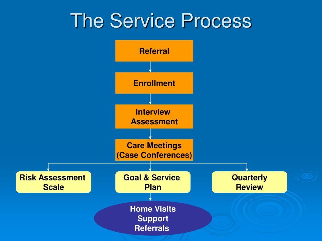 The Service Process