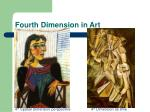 fourth dimension in art