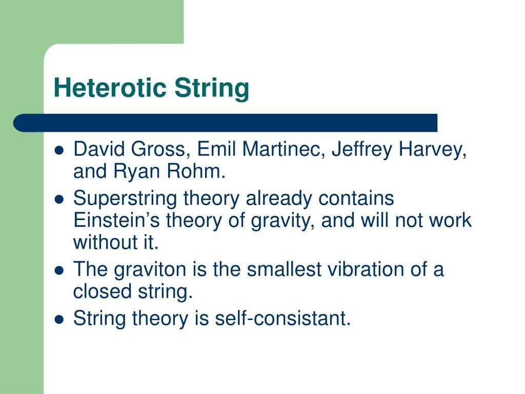 Heterotic String