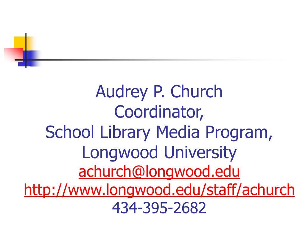 Audrey P. Church