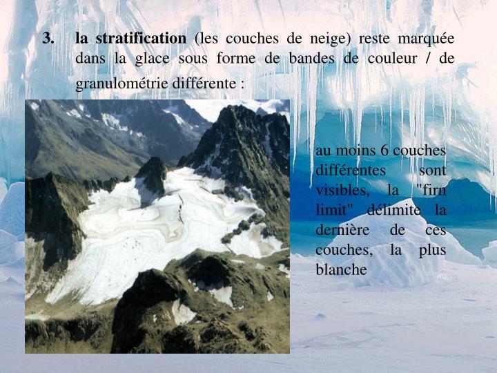 la stratification