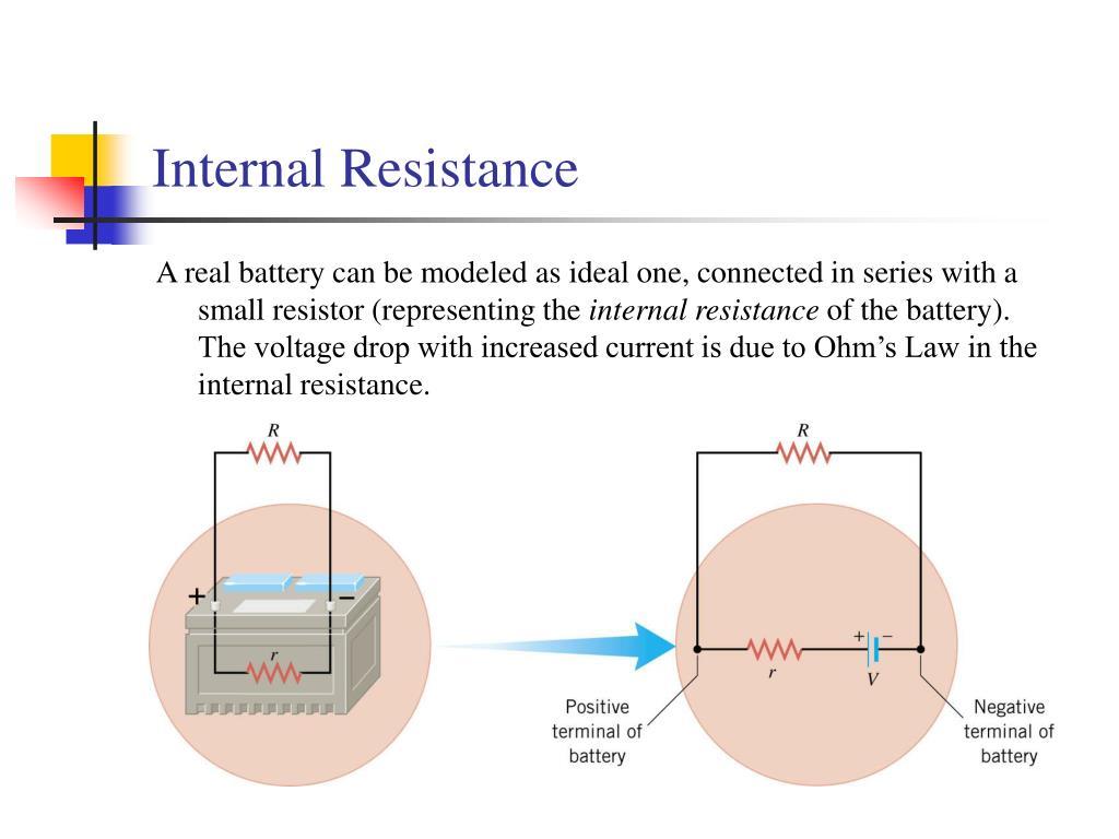 Internal Resistance