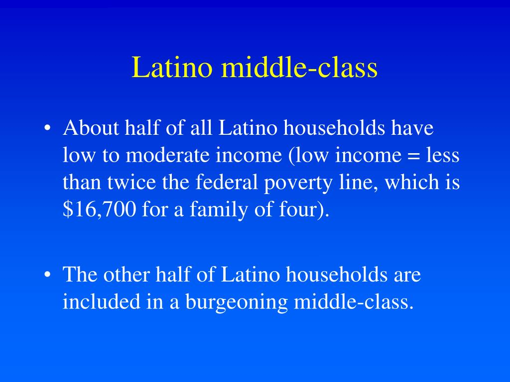 Latino middle-class