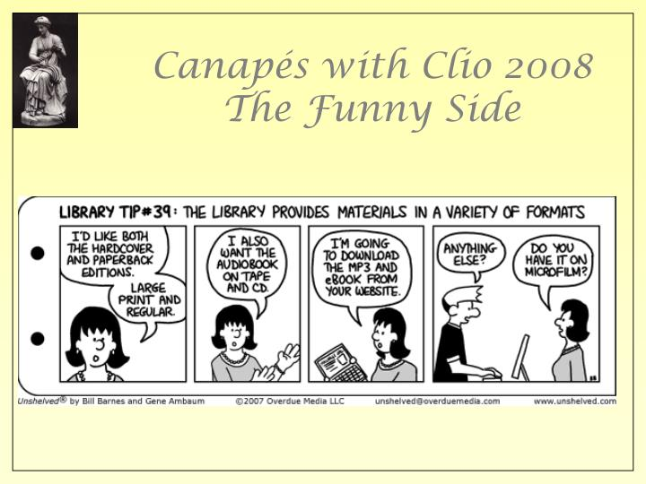 Canap s with clio 2008 the funny side2 l.jpg