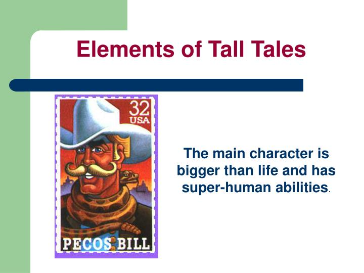 Elements of Tall Tales