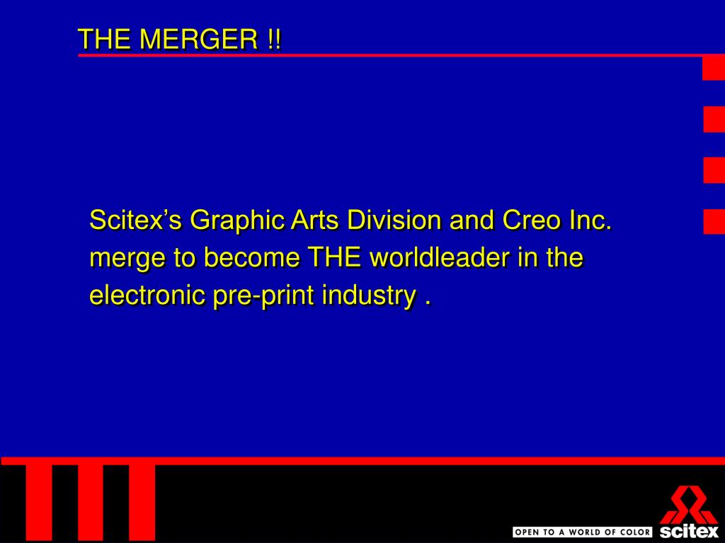 THE MERGER !!