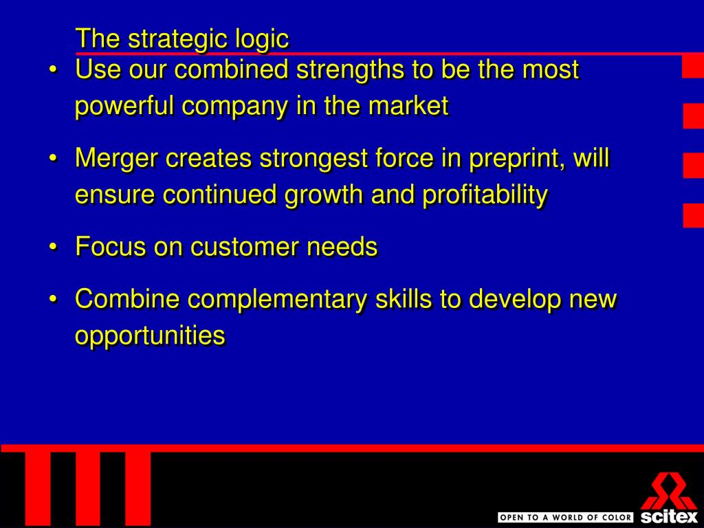The strategic logic