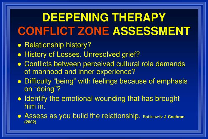 DEEPENING THERAPY