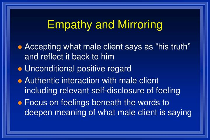 Empathy and Mirroring