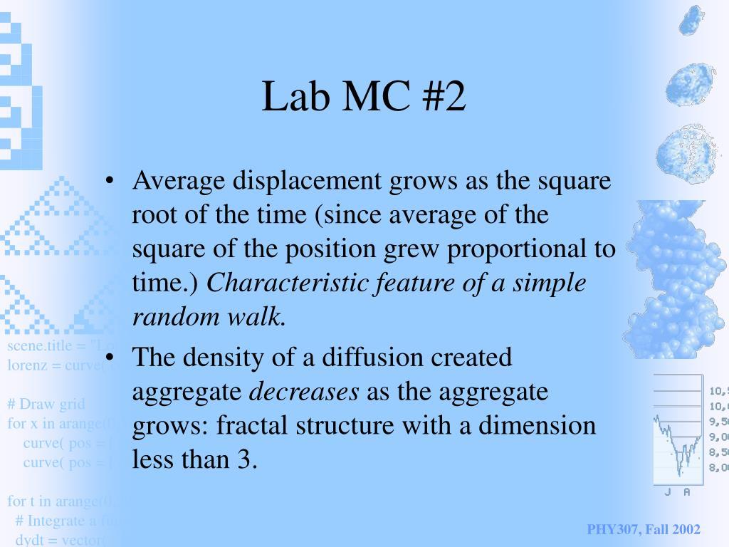 Lab MC #2