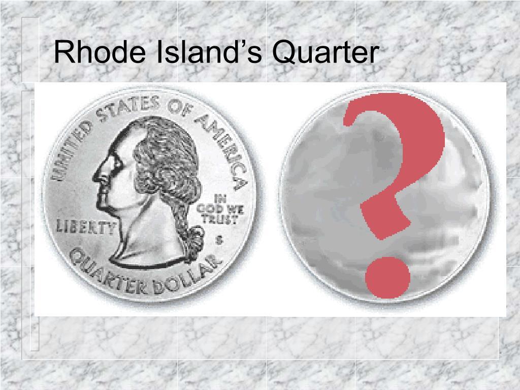 Rhode Island's Quarter
