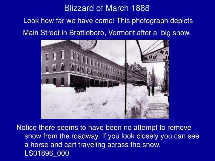 Blizzard of March 1888