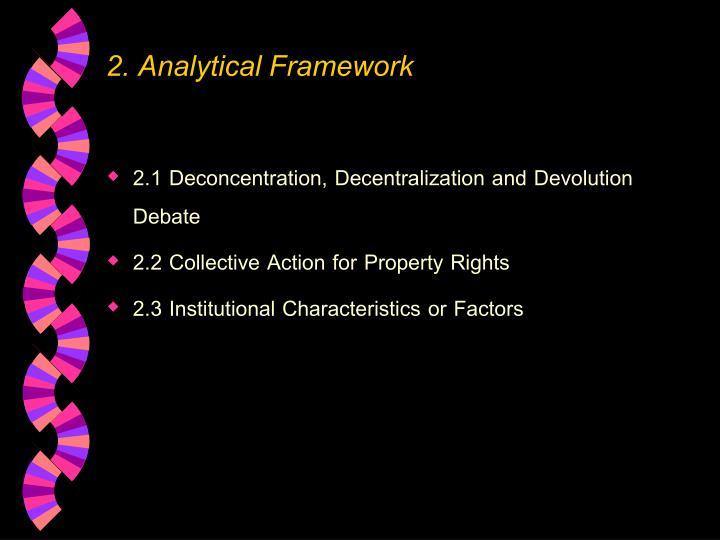 2. Analytical Framework