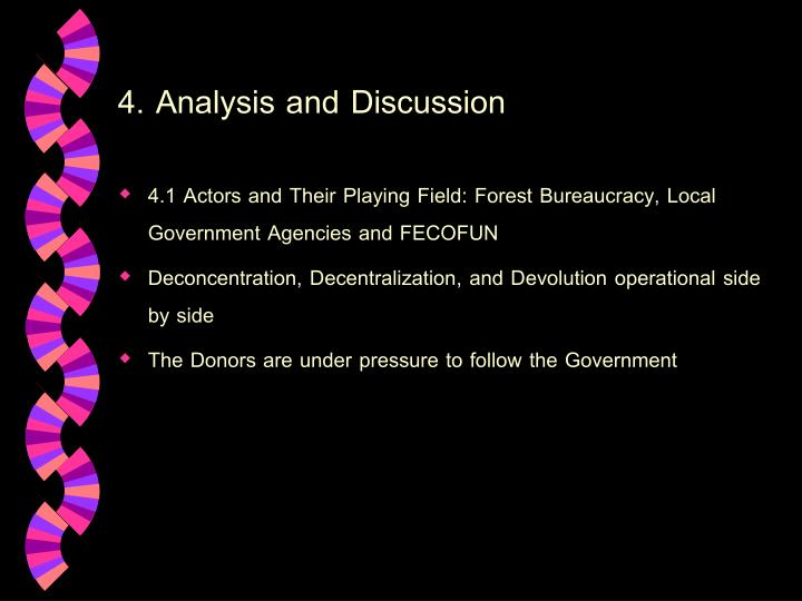 4. Analysis and Discussion