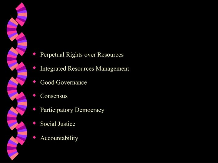 Perpetual Rights over Resources