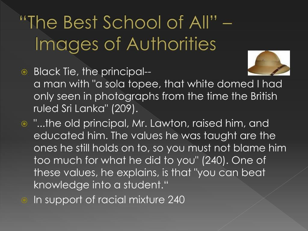 """""""The Best School of All"""" –Images of Authorities"""