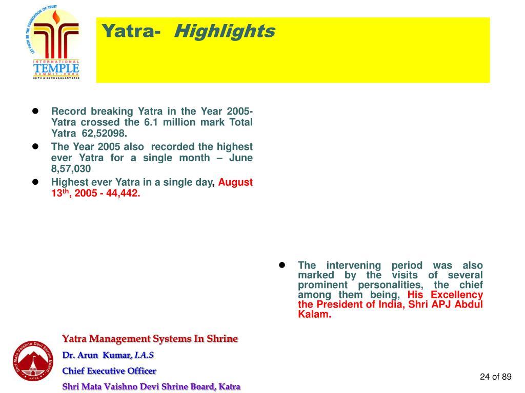 Yatra-