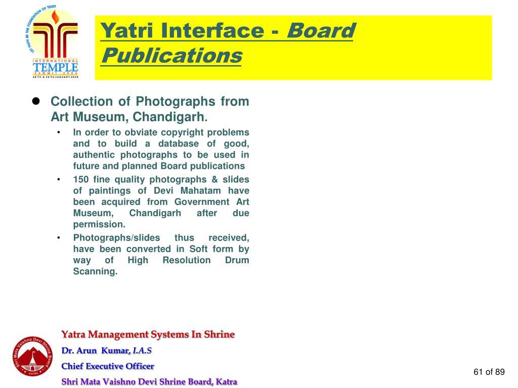 Yatri Interface -