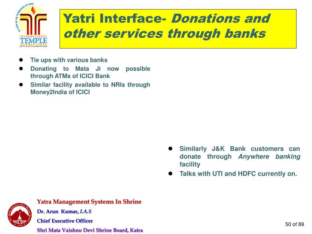 Yatri Interface-