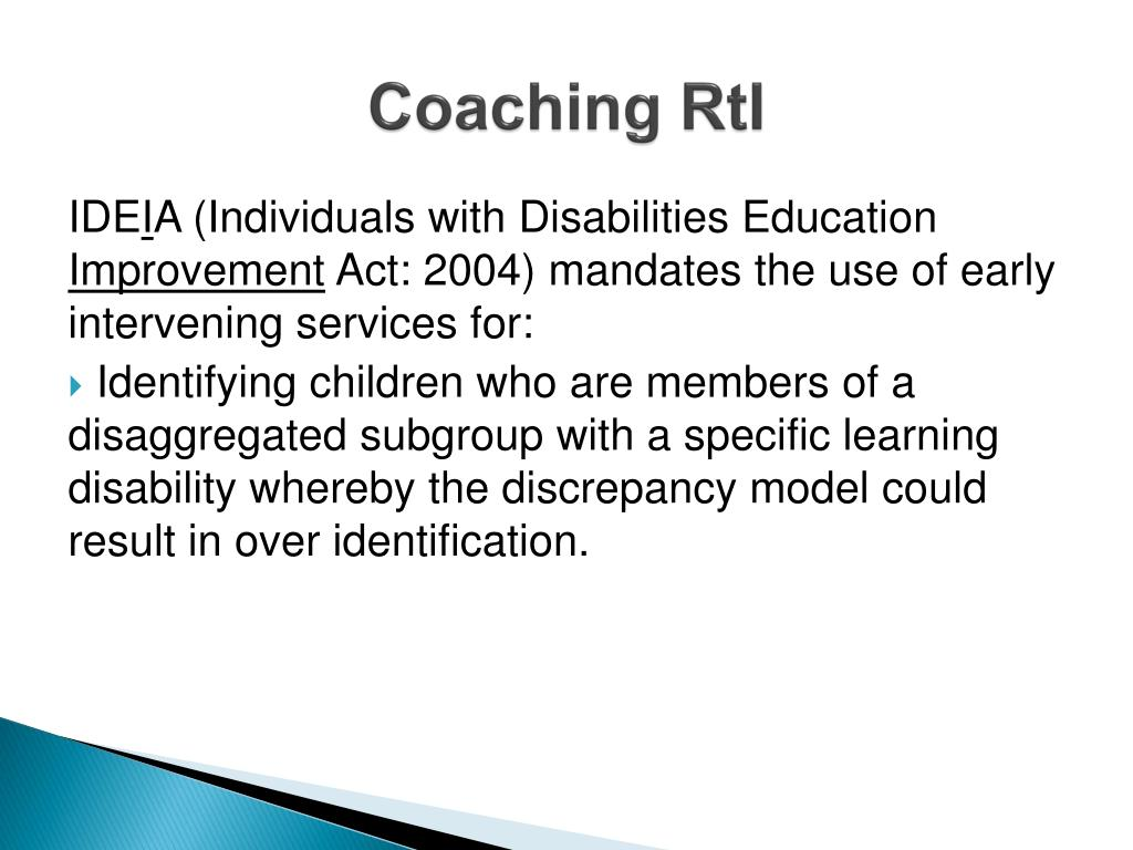 Coaching RtI