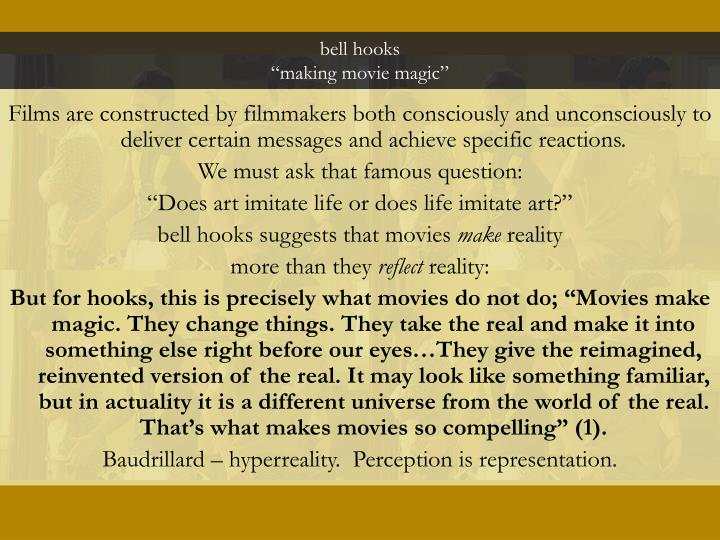Bell hooks making movie magic