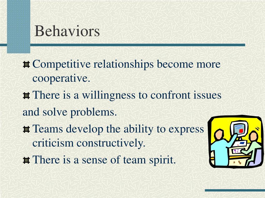 Behaviors