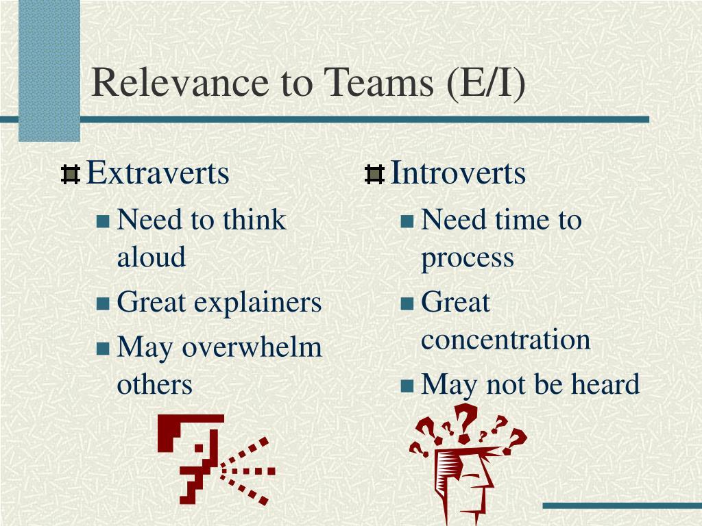 Extraverts