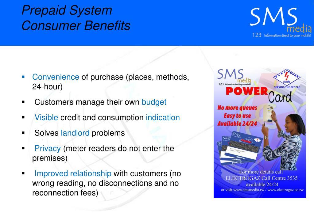 Prepaid System