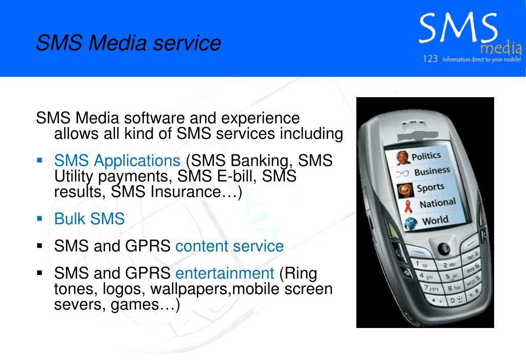 SMS Media service