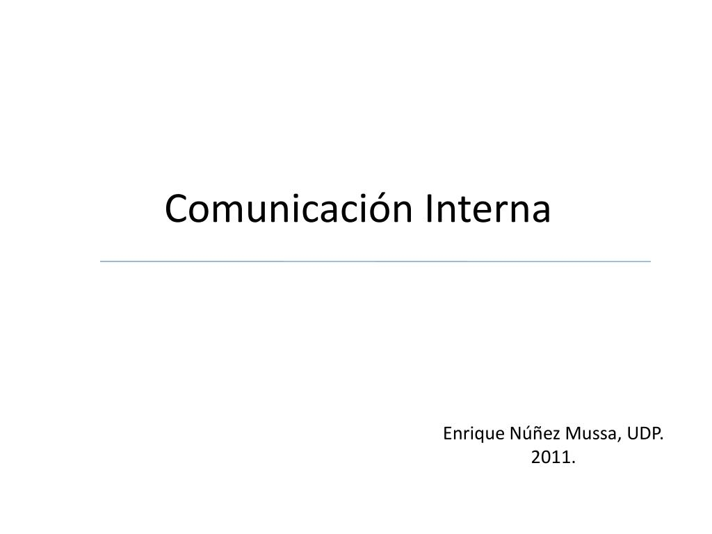 comunicaci n interna