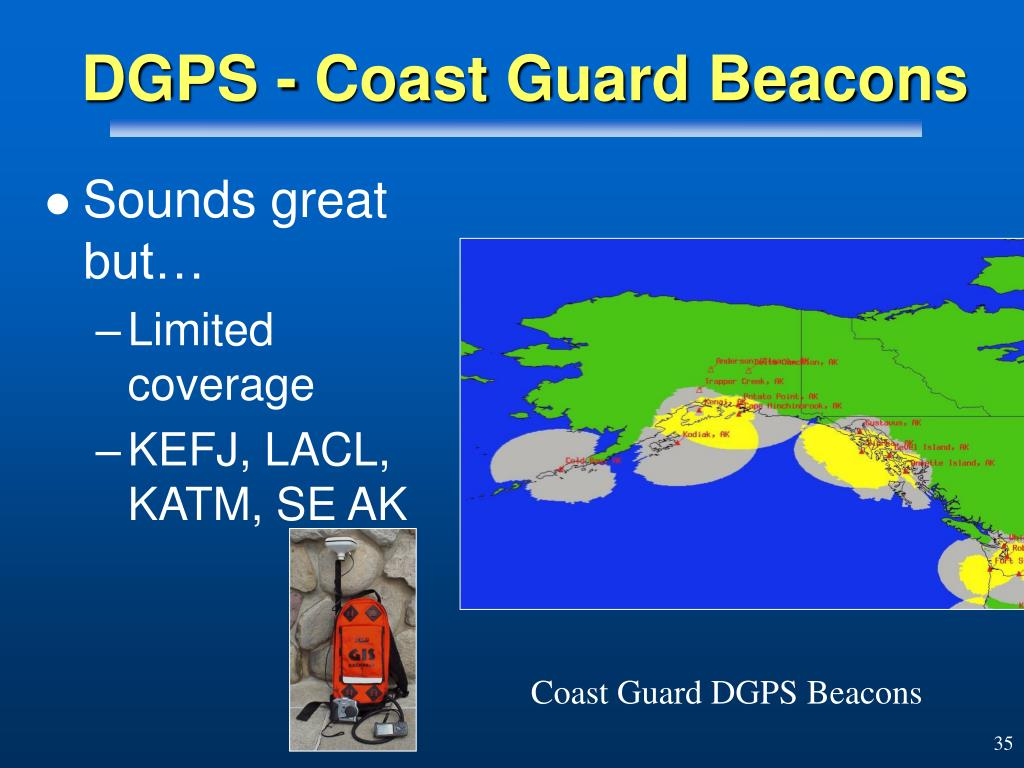 DGPS - Coast Guard Beacons