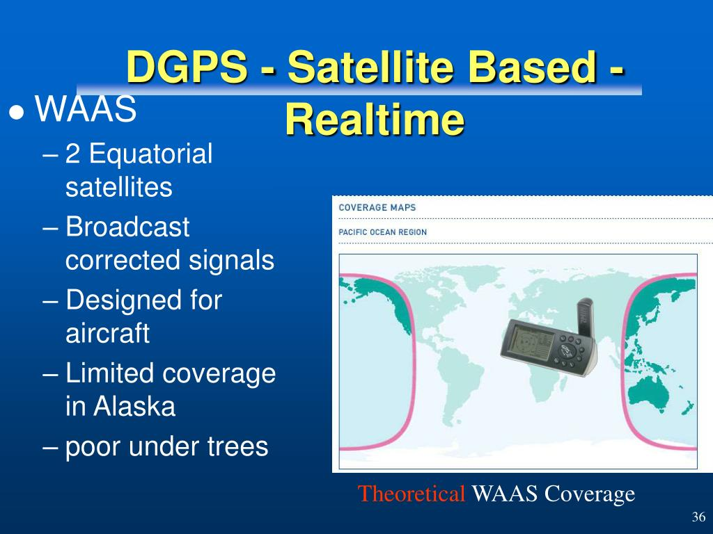 DGPS - Satellite Based - Realtime