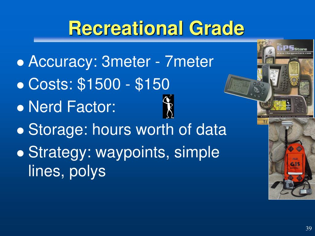 Recreational Grade