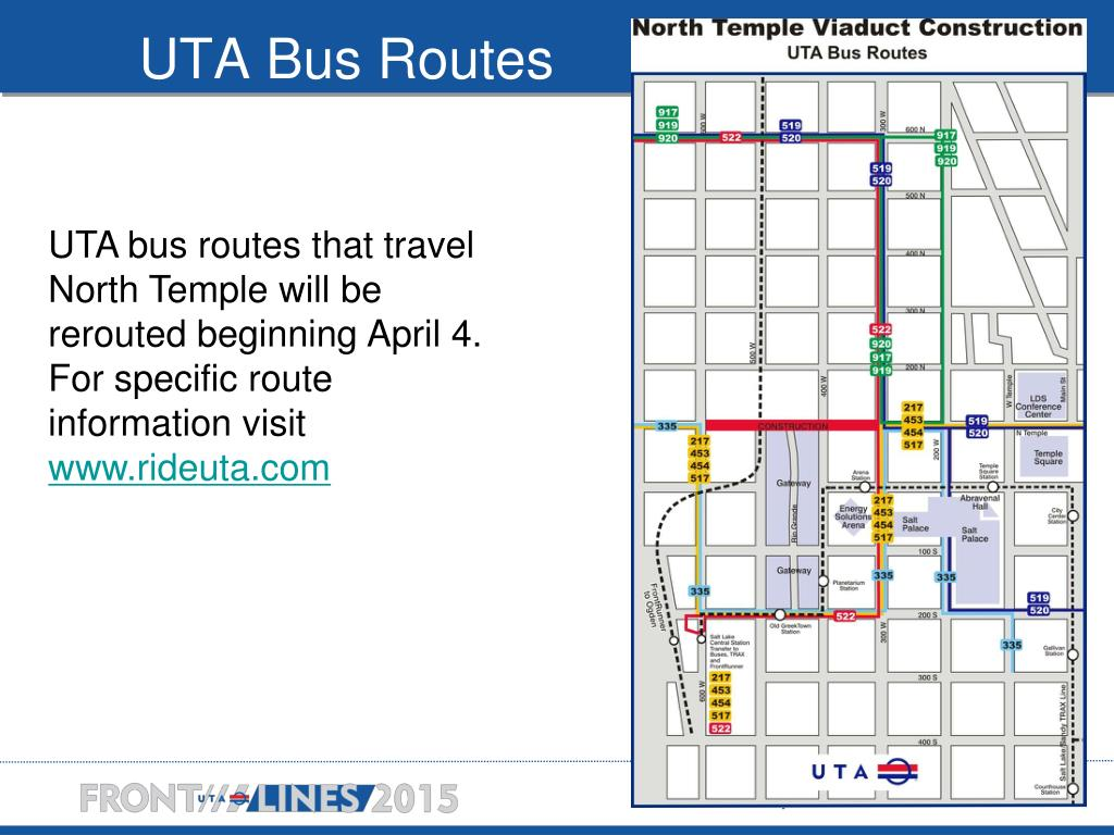 UTA Bus Routes