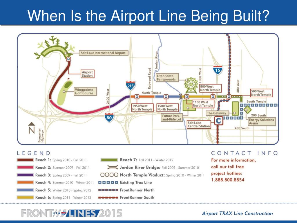 When Is the Airport Line Being Built?