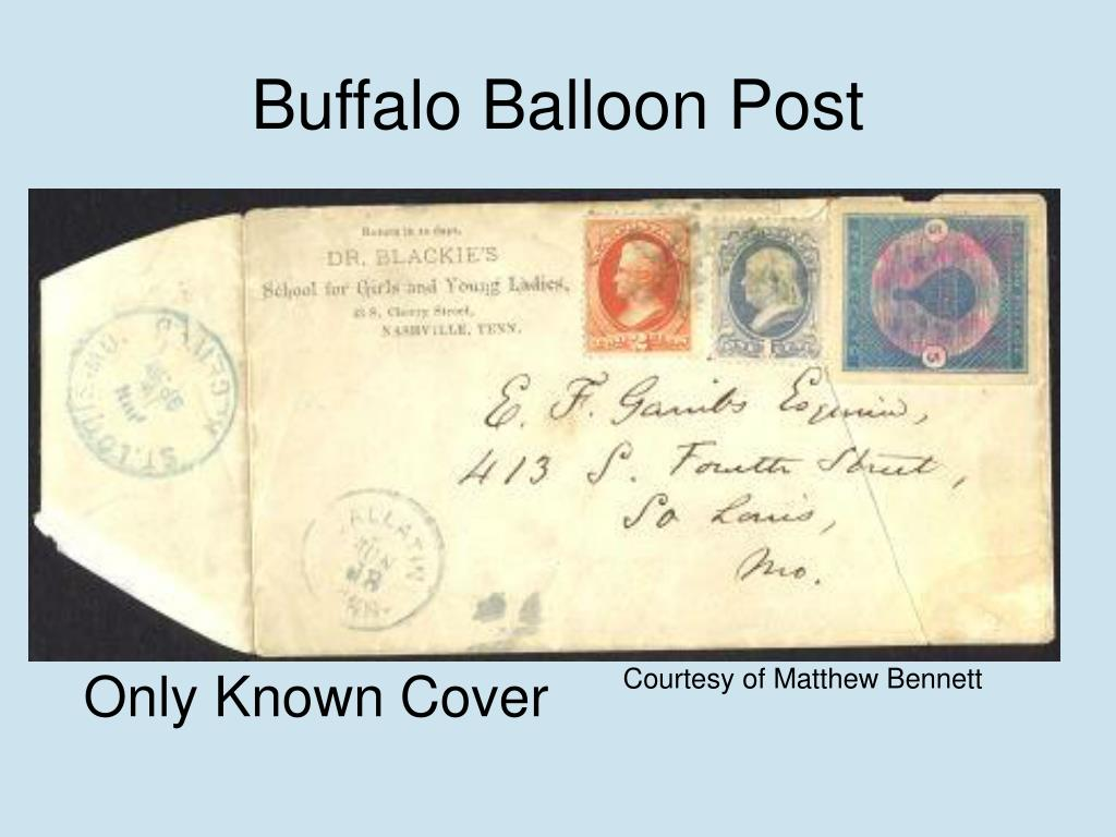 Buffalo Balloon Post