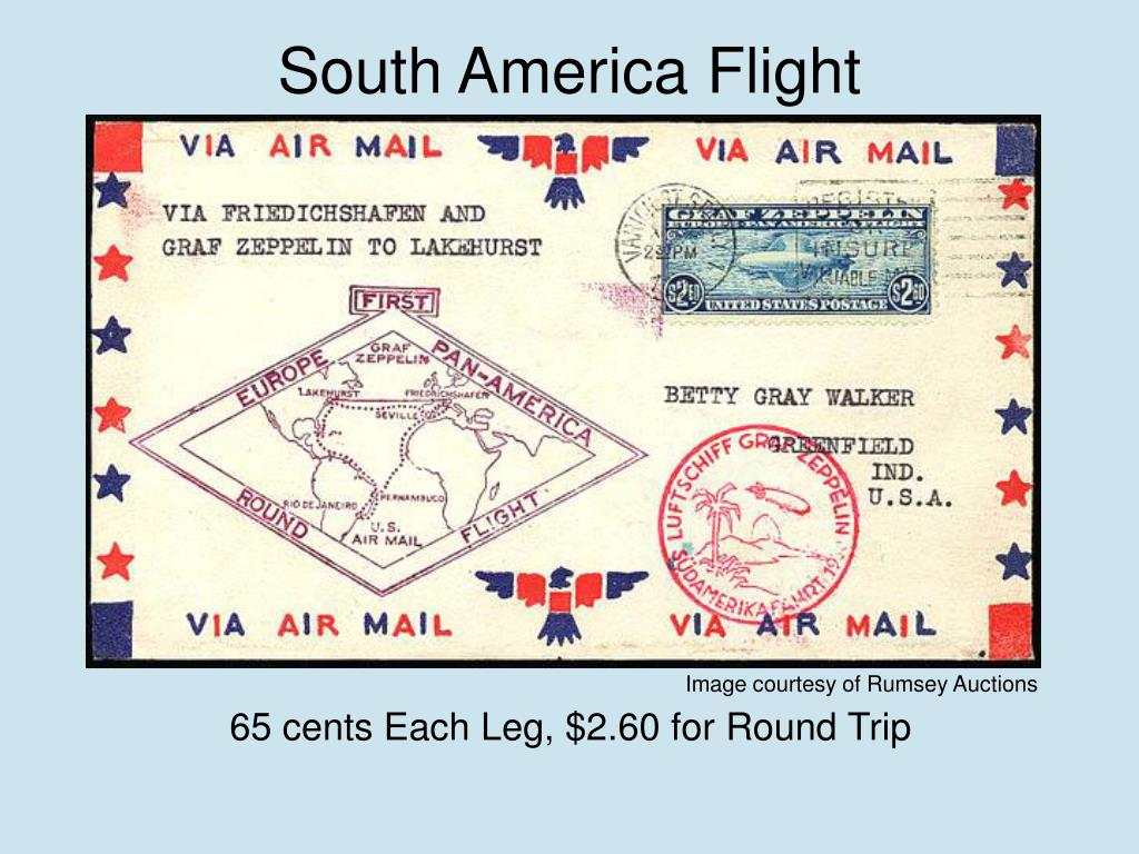 South America Flight