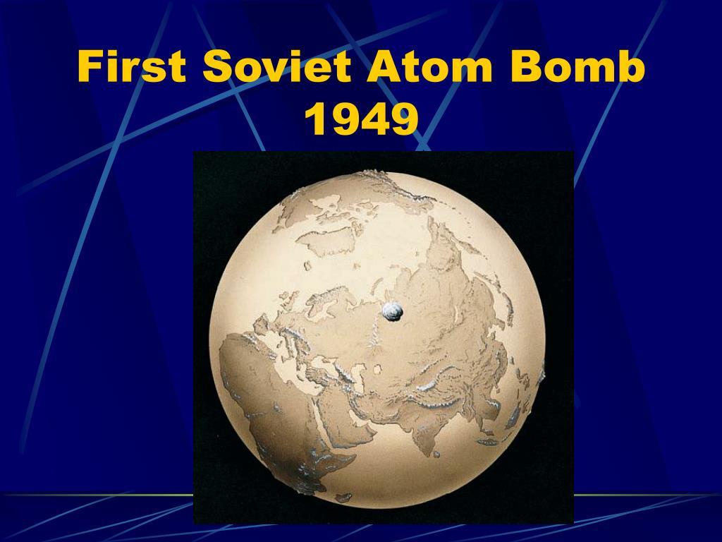 First Soviet Atom Bomb
