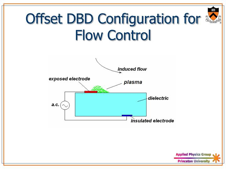 Offset dbd configuration for flow control