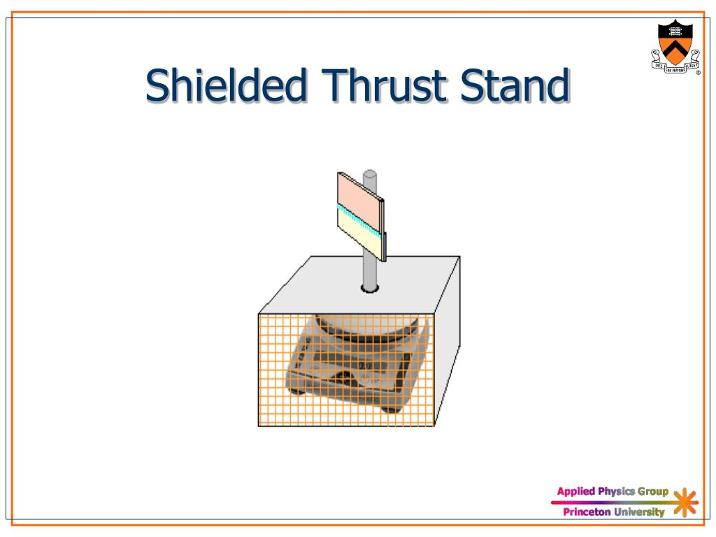 Shielded Thrust Stand