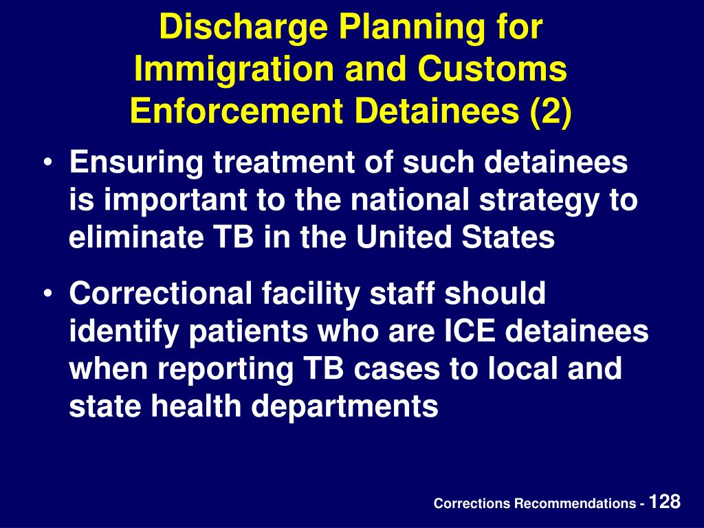 Discharge Planning for
