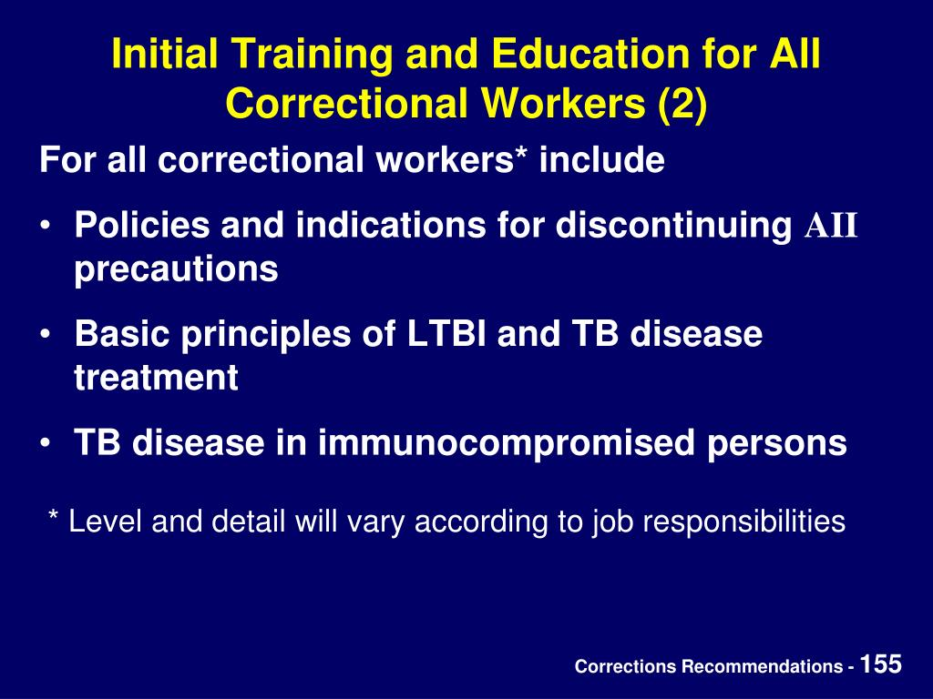 Initial Training and Education for All Correctional Workers (2)