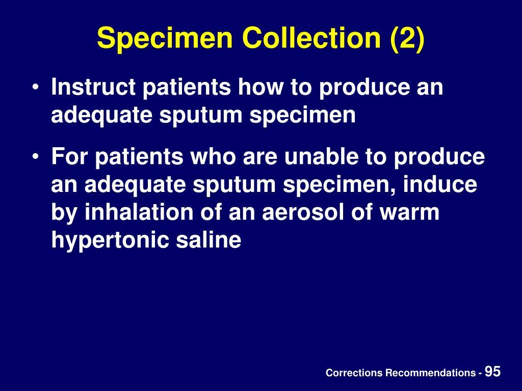 Specimen Collection (2)