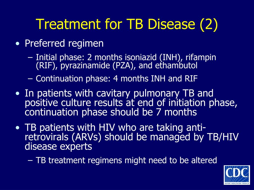 Treatment for TB Disease (2)