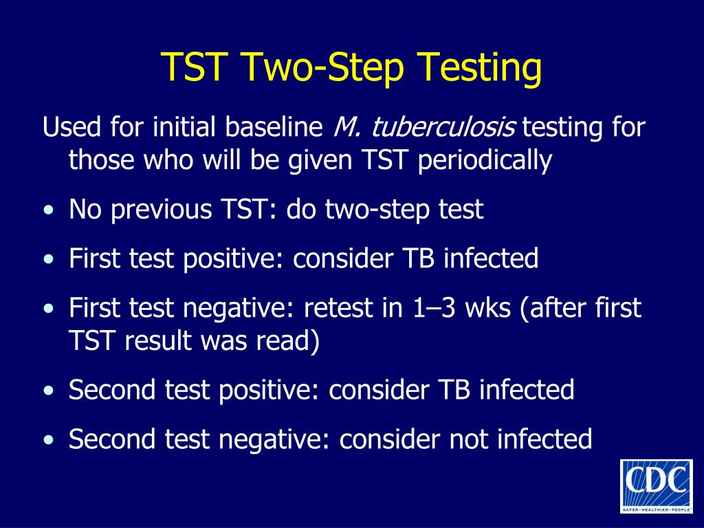 TST Two-Step Testing