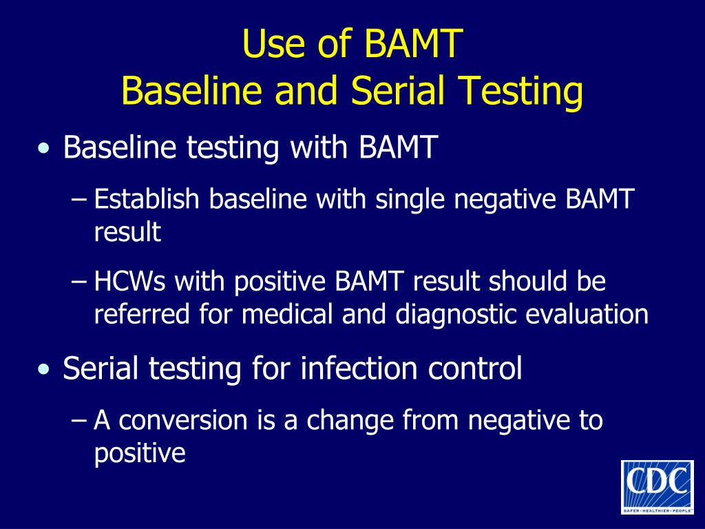 Use of BAMT