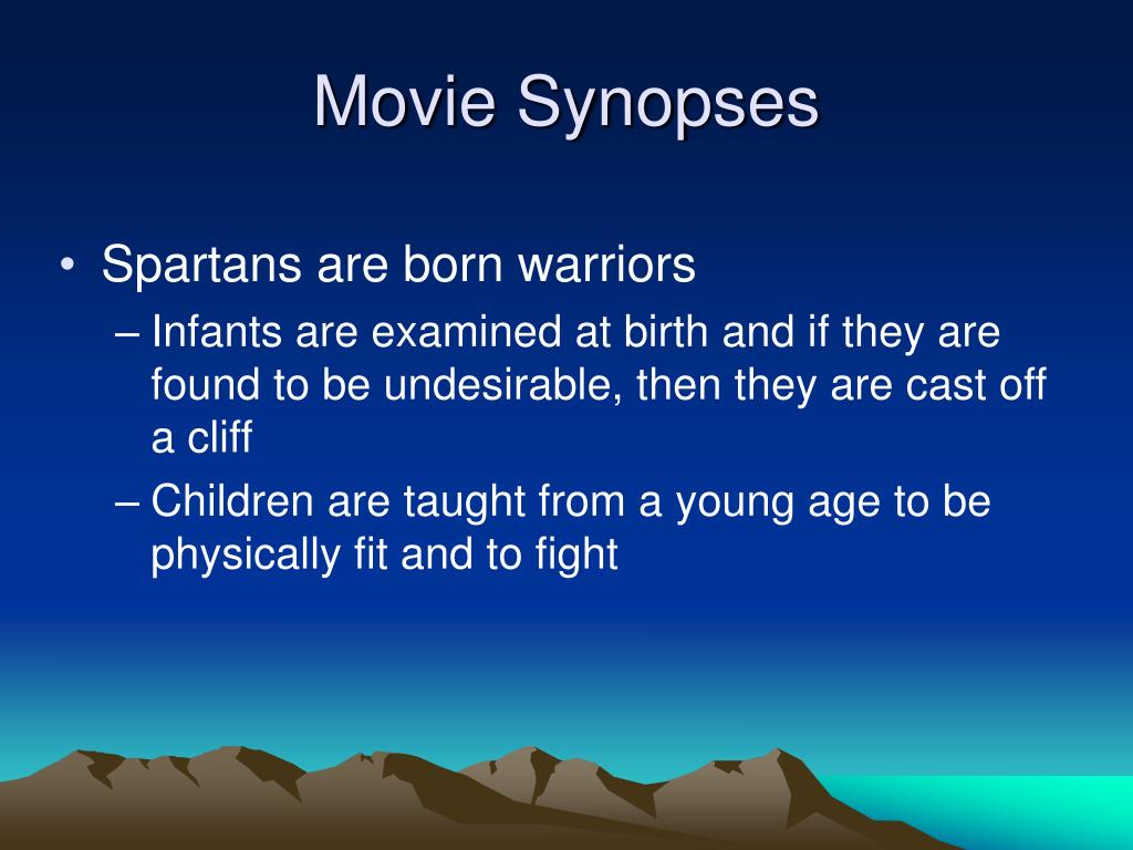 Movie Synopses