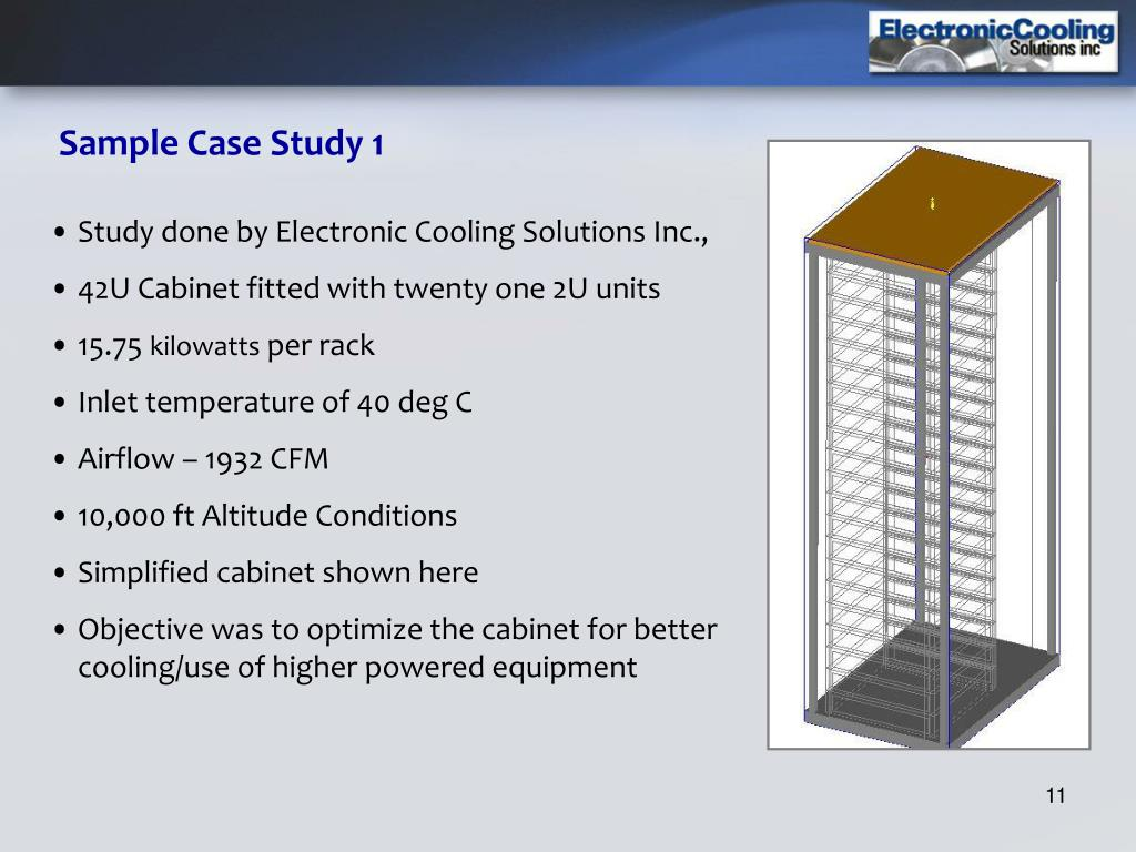 Sample Case Study 1